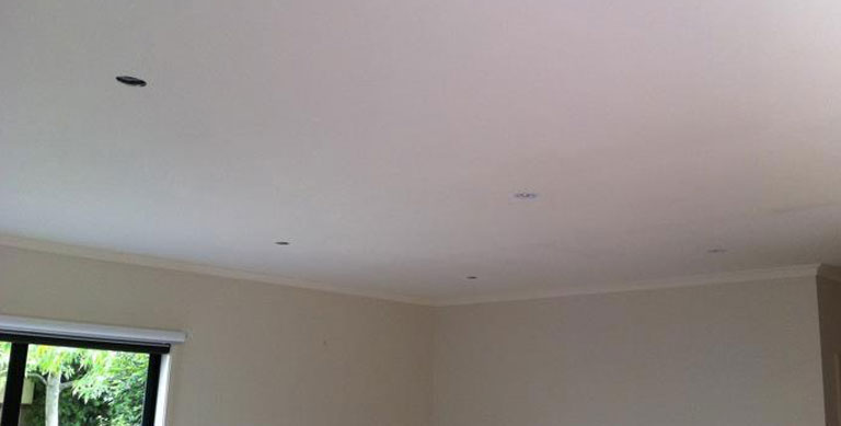 plaster repairs Northcote fresh ceiling - Plastering and Painting Services Northcote