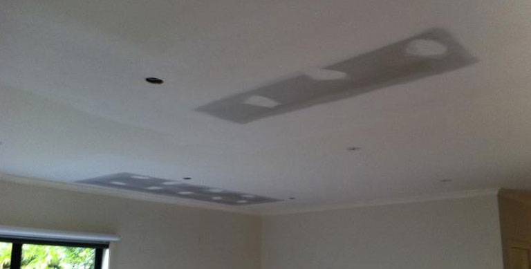 plaster repairs Northcote damaged ceiling - Plastering and Painting Services Northcote